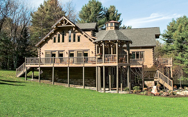 The Impressive Maine Log Home From Extreme Makeover Home Edition