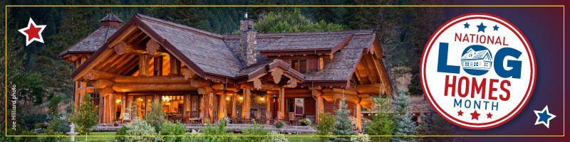 National Log Homes Month Giveaways