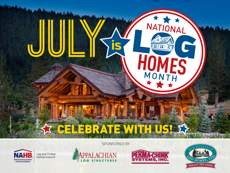 2019 National Log Homes Month