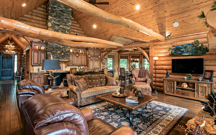 Log Home Living: The Essential Guide to Log Homes