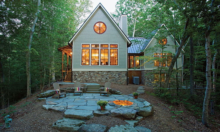 The Virginia Timber Frame That Blends Beauty & Nature