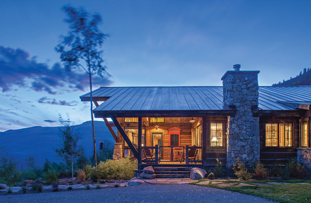 The Colorado Timber Frame That Took Decades to Build