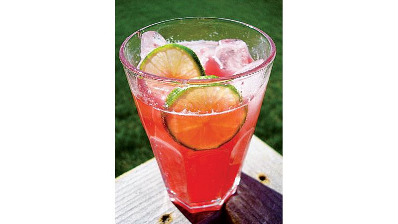 Rasberry Lime Rickey
