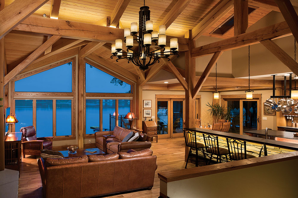 Great Room Overlooking the Lake