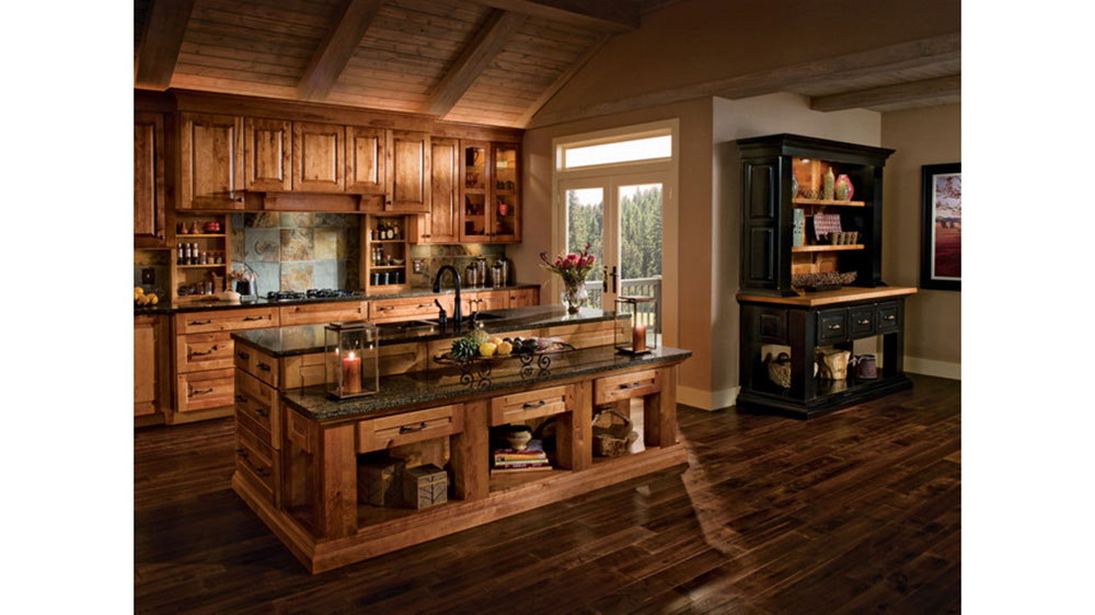 kitchen cabinets rustic style 10 kitchen cabinet styles for your log home 21139