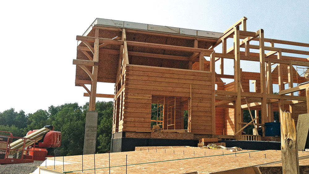 Can You Build SIPs in Log Homes?