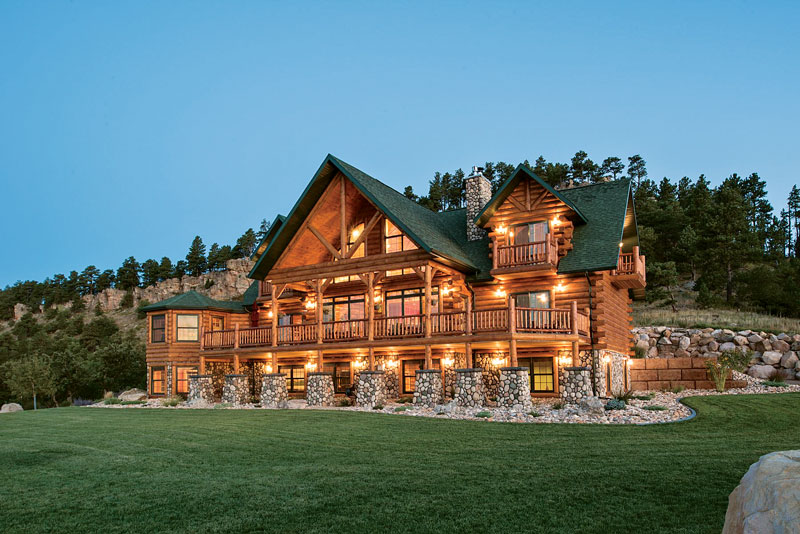 This Log Home Is A Black Hills Beauty