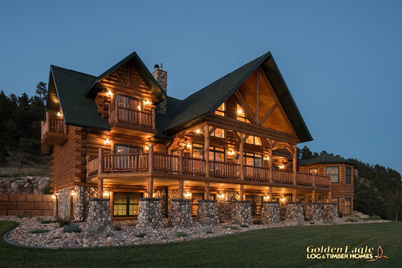 Spearfish Country S Best Log Home From Golden Eagle Log