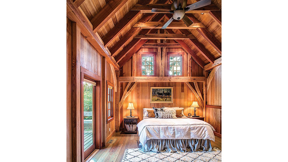 timber bedroom