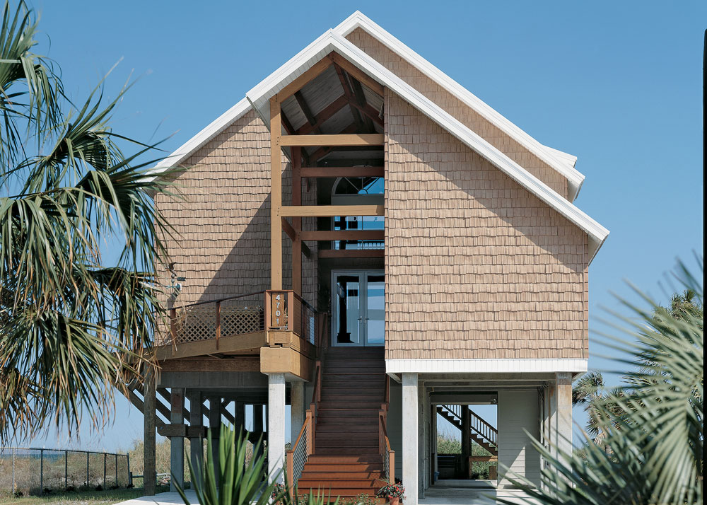 Timber Home on the Beach