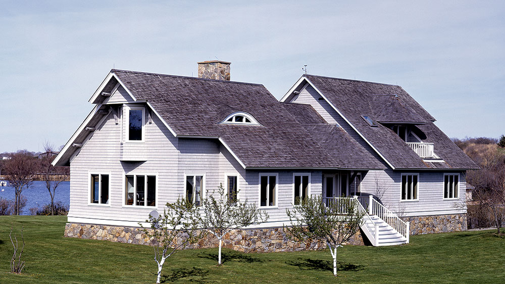 The Coastal Rhode Island Timber Frame