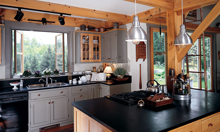 Fabled Country: Timber Frame Barn Home