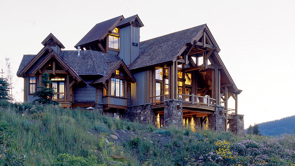 The Timber Frame with Amazing Views