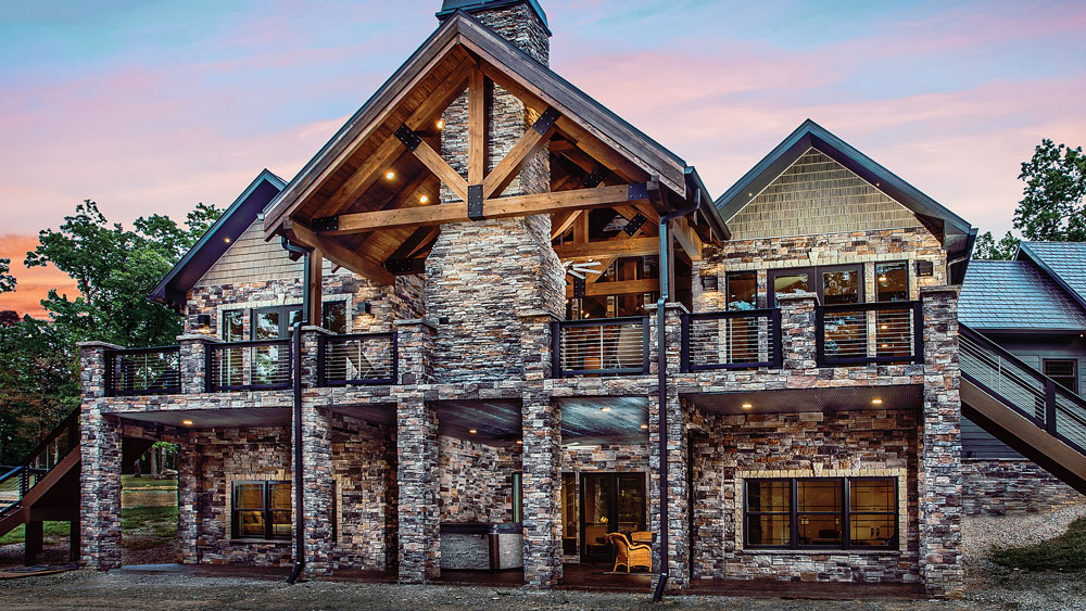 This Stunning Hybrid Home Stands Out Among the Tennessee Hills