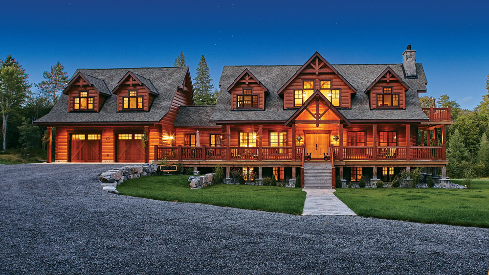 How Design Your Dream Log Home