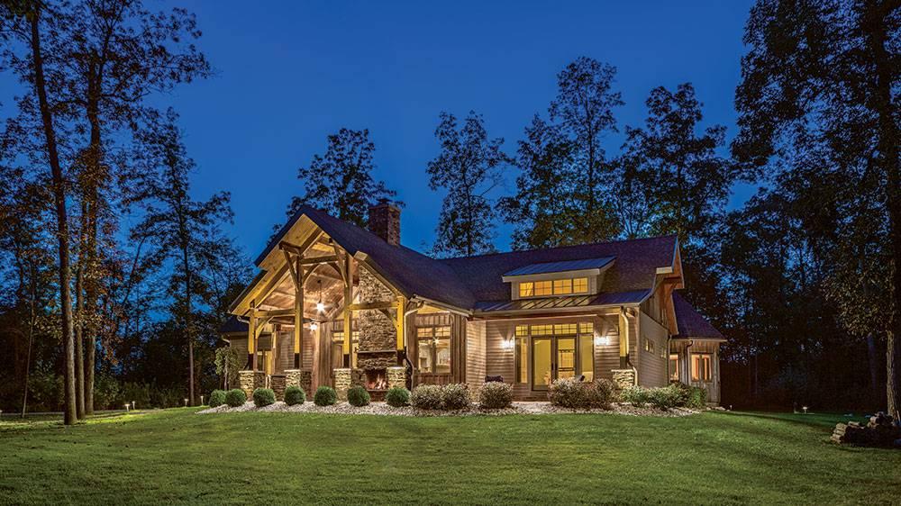 Tour this Ohio Timber-Frame Retirement Retreat