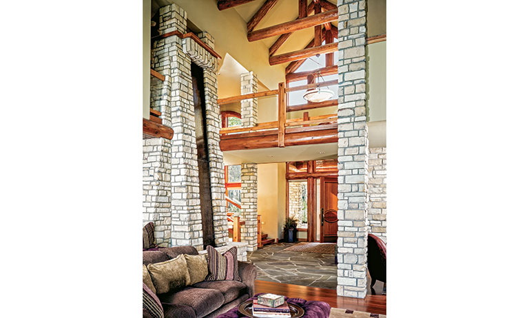 White-Cliff--Foyer-&-Waterfall-Wisconsin-Log-Homes,-Inc_2268_2017-10-26_15-50