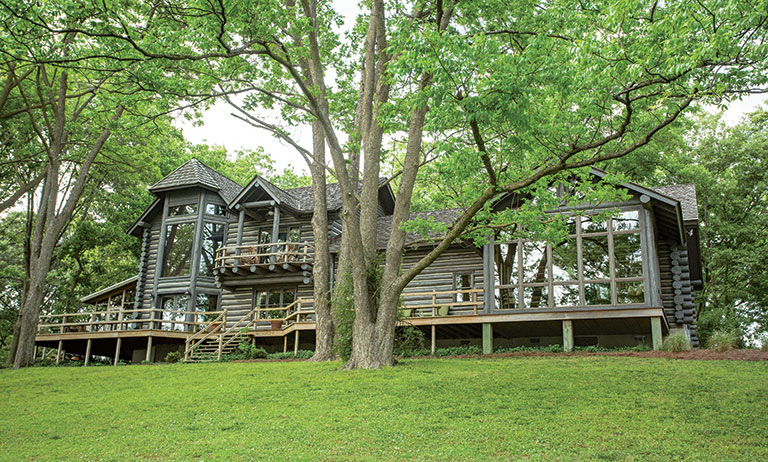 Home Tour: A Log Home Expansion in the Delta
