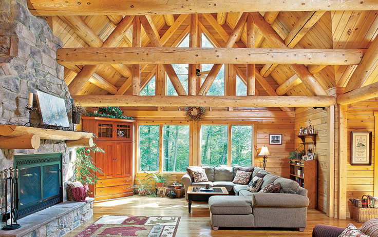What's the Difference Between a Log Cabin and a Timber Cabin?