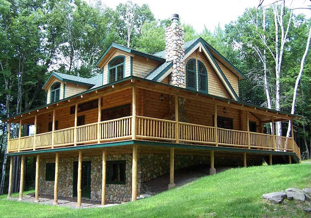 Alta Log Homes Maplecrest