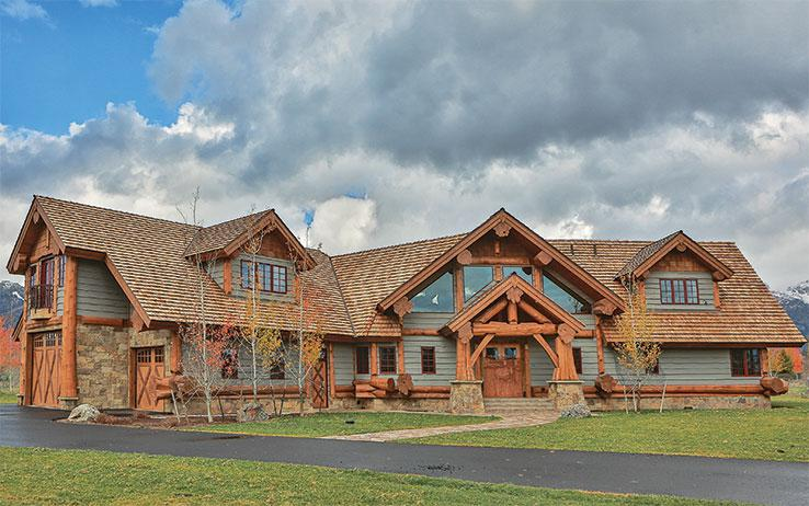 4 Tips To Building A Perfect Ranch Style Log Home