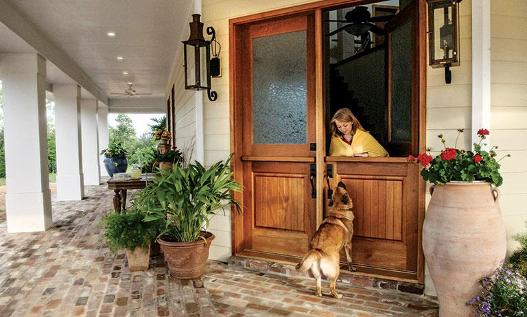 Install a Dutch Door for Instant Charm & Have Pets? Install a Dutch Door for Instant Charm