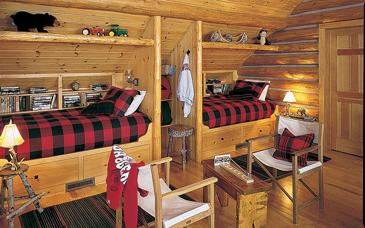 10 Great Ideas To Jazz Up A Small Square Bedroom: 11 Storage Tips For Small Log Homes