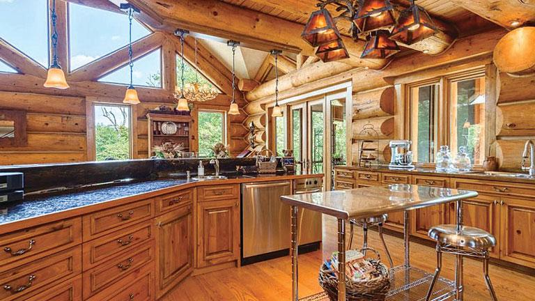 Log Cabin Kitchen Design Ideas And Inspiration