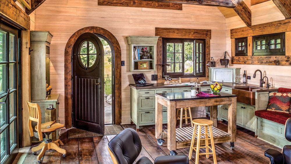 The Best Design Tips For Cabin Kitchens And Bathrooms