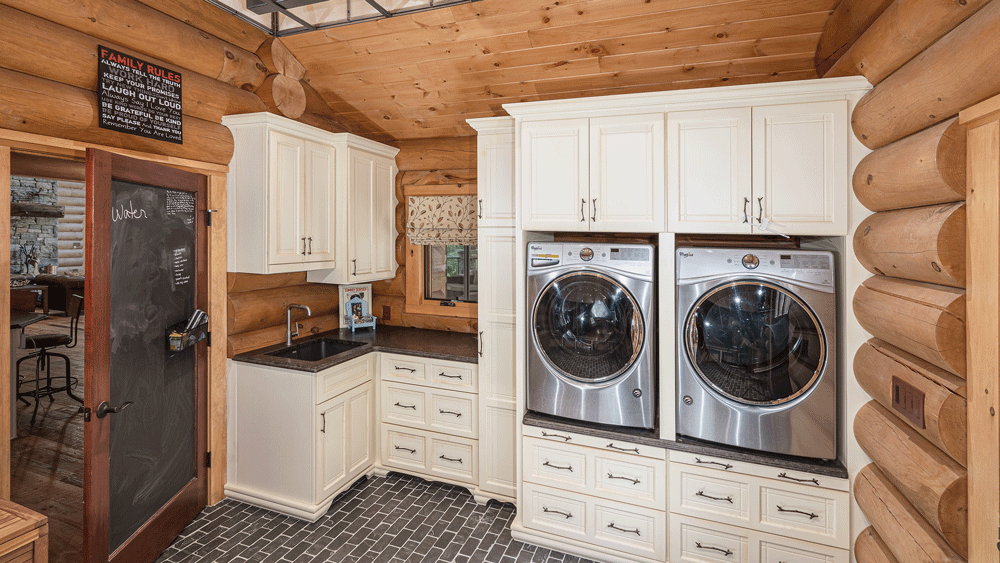 Timber Home Laundry Room Design Ideas