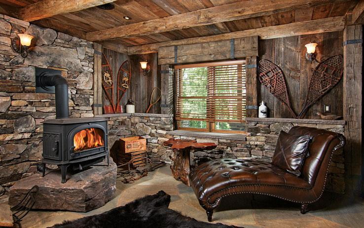 The Perfect Classic American Log Cabin
