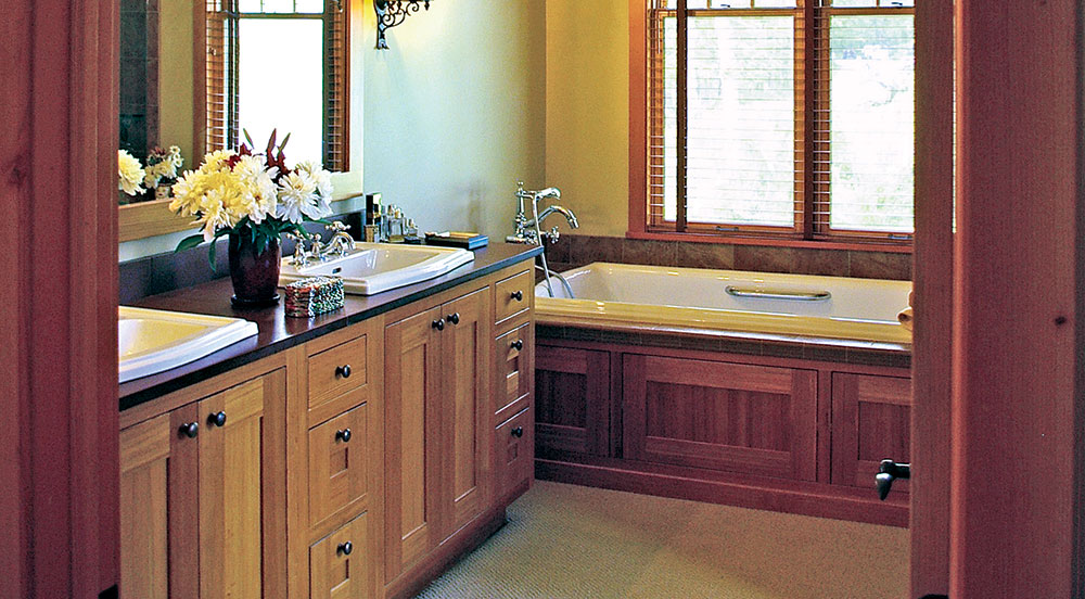 The Best Master Bath for Your Timber Frame Home