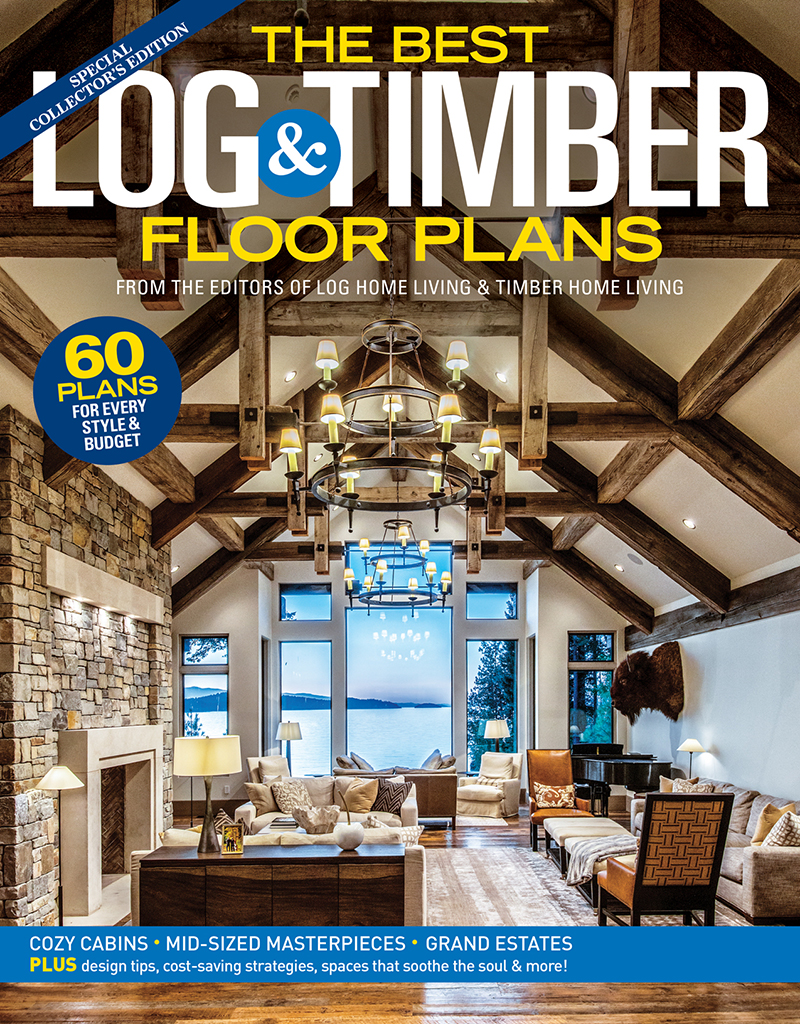 Best Log & Timber Floor Plans 2019
