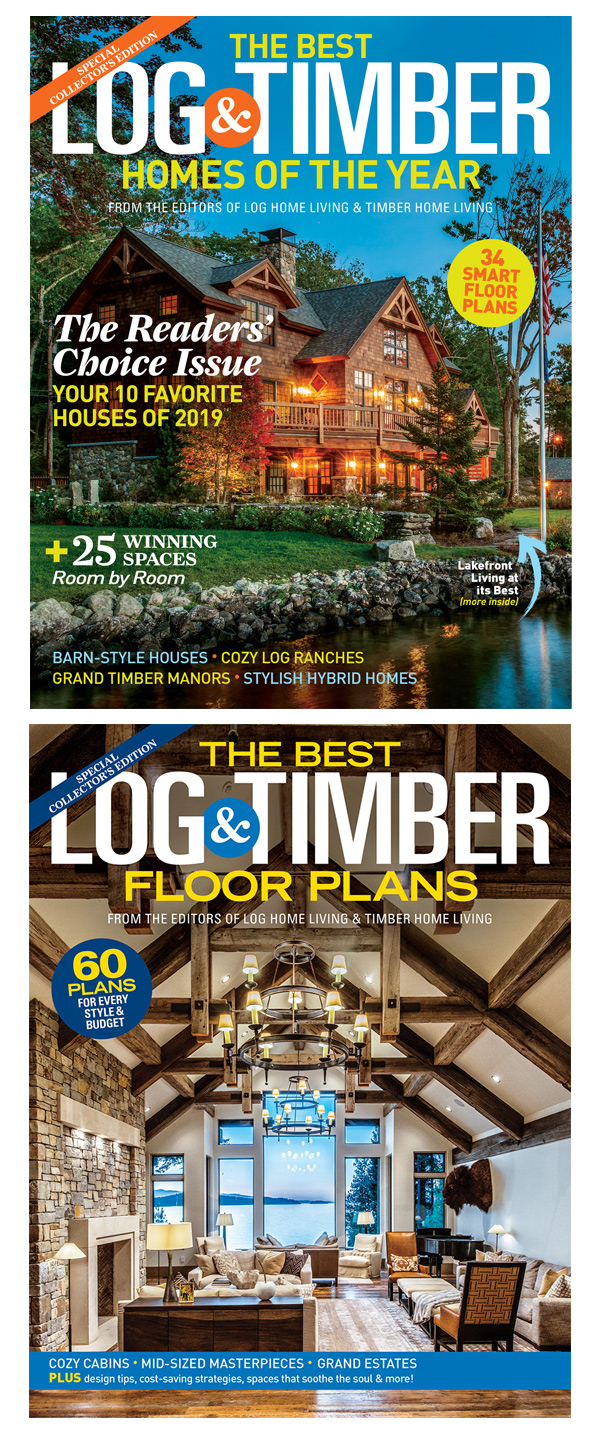 The Best Log & Timber Homes / The Best Log & Timber Floor Plans