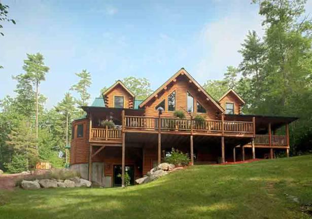Sebec Log Cabin Floor Plan by Katahdin Cedar Log Homes – Cedar Log Home Floor Plans