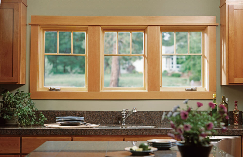 casement window kitchen