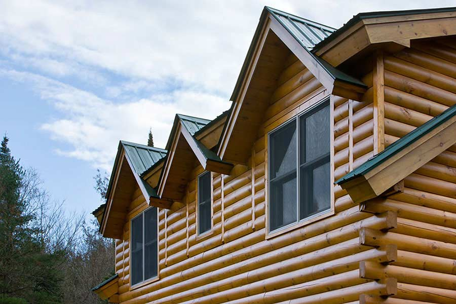 Ironwood log home plan by coventry log homes for Ironwood homes