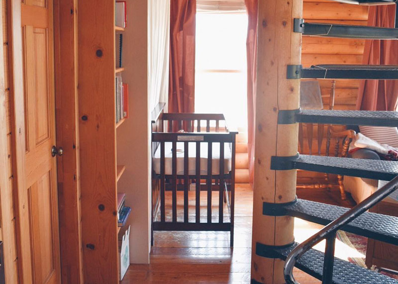 How to Downsize into a Cabin: Children's Cribs