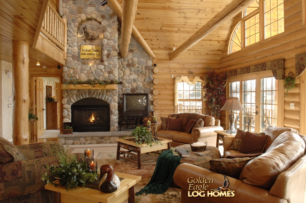 Double Eagle Deluxe Home Plan By Golden Eagle Log