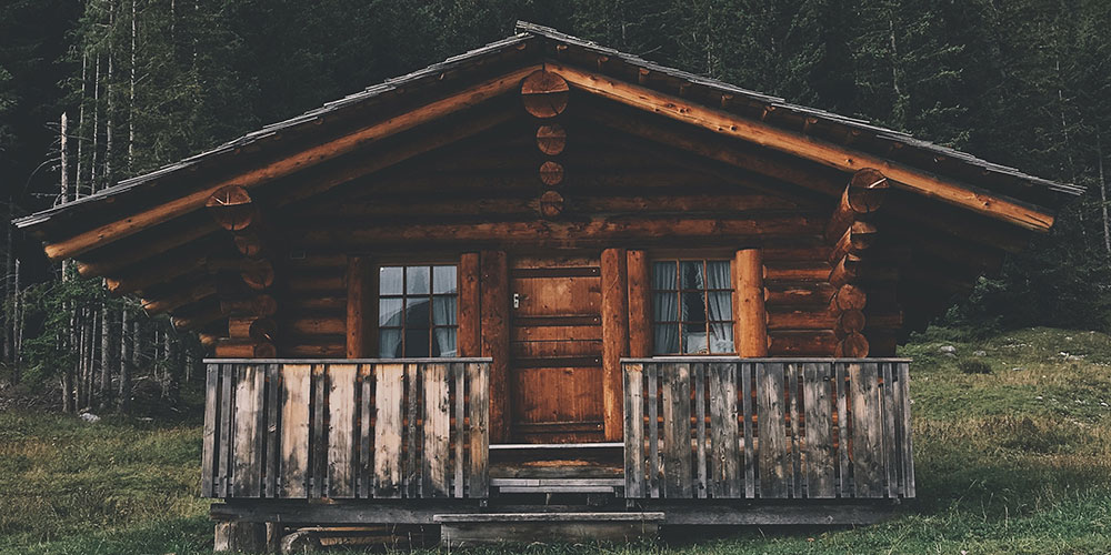 Exterior: Exterior Finishes: How To Stain Your Cabin Exterior