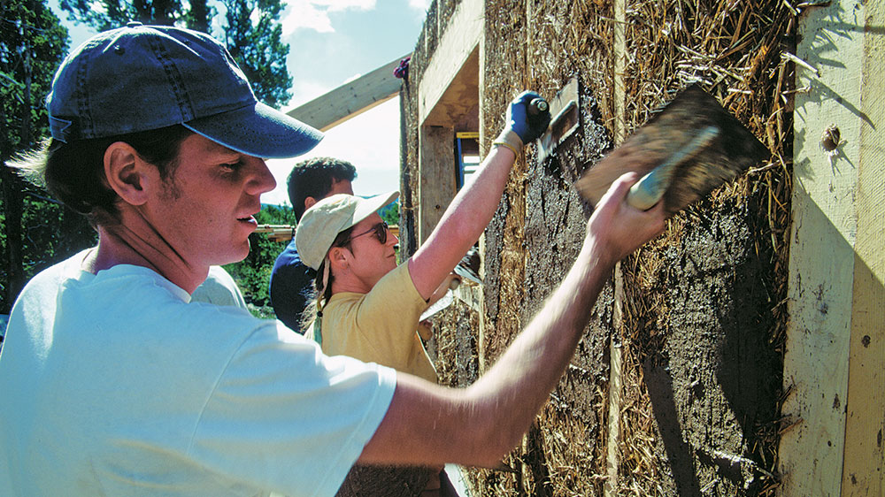 The Case for Straw Bale Timber Frame Homes