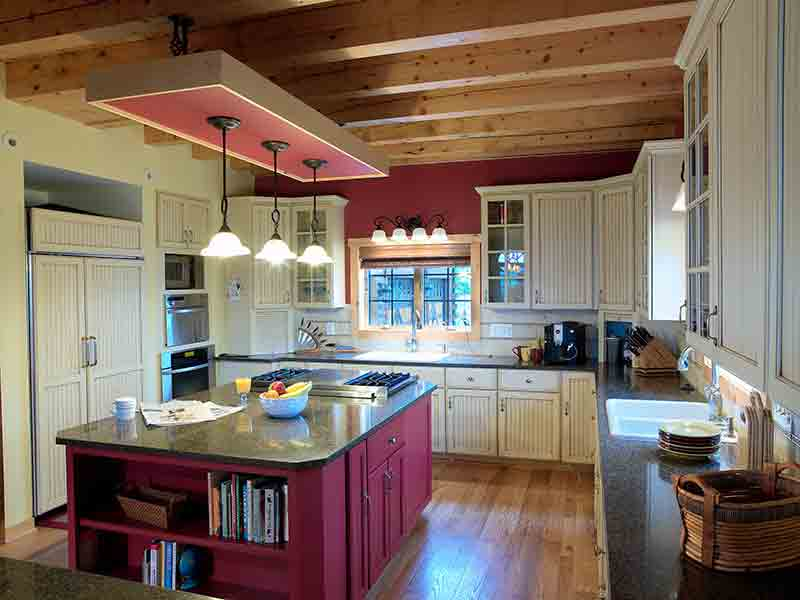 kitchen--Katahdin's Hennessey Floor Plan