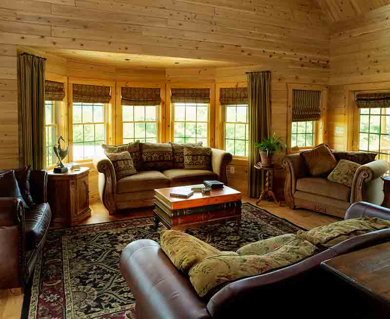 living room--Katahdin's Hennessey Floor Plan