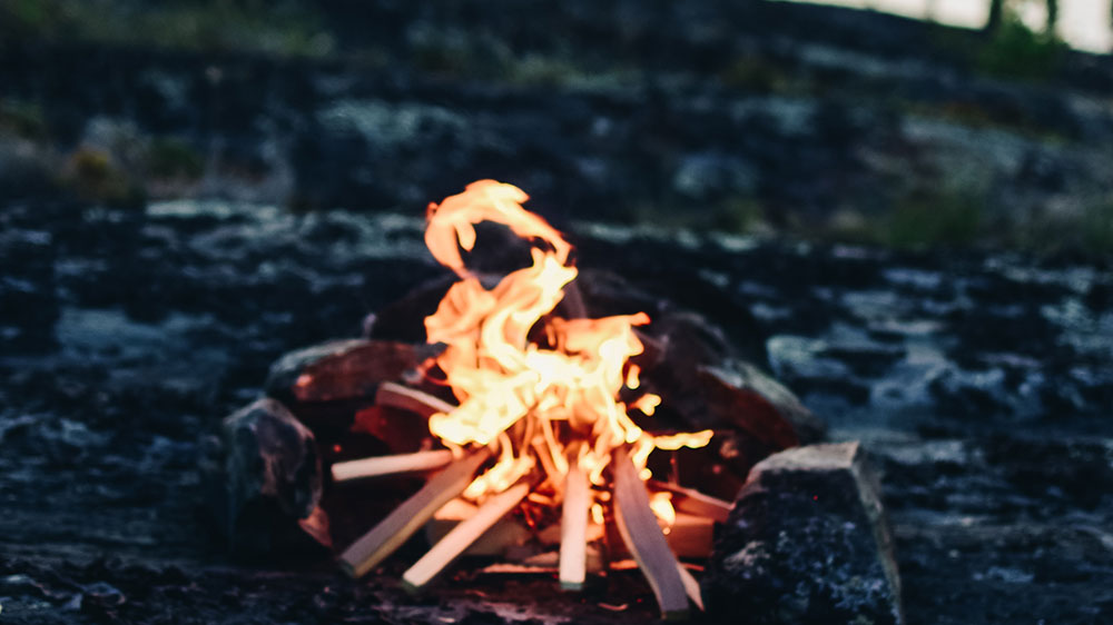 How to Maintain a Campfire