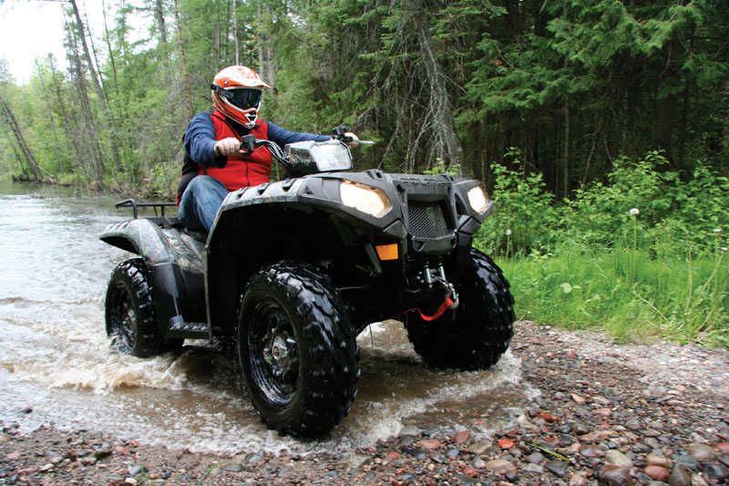 My First Ride on an ATV