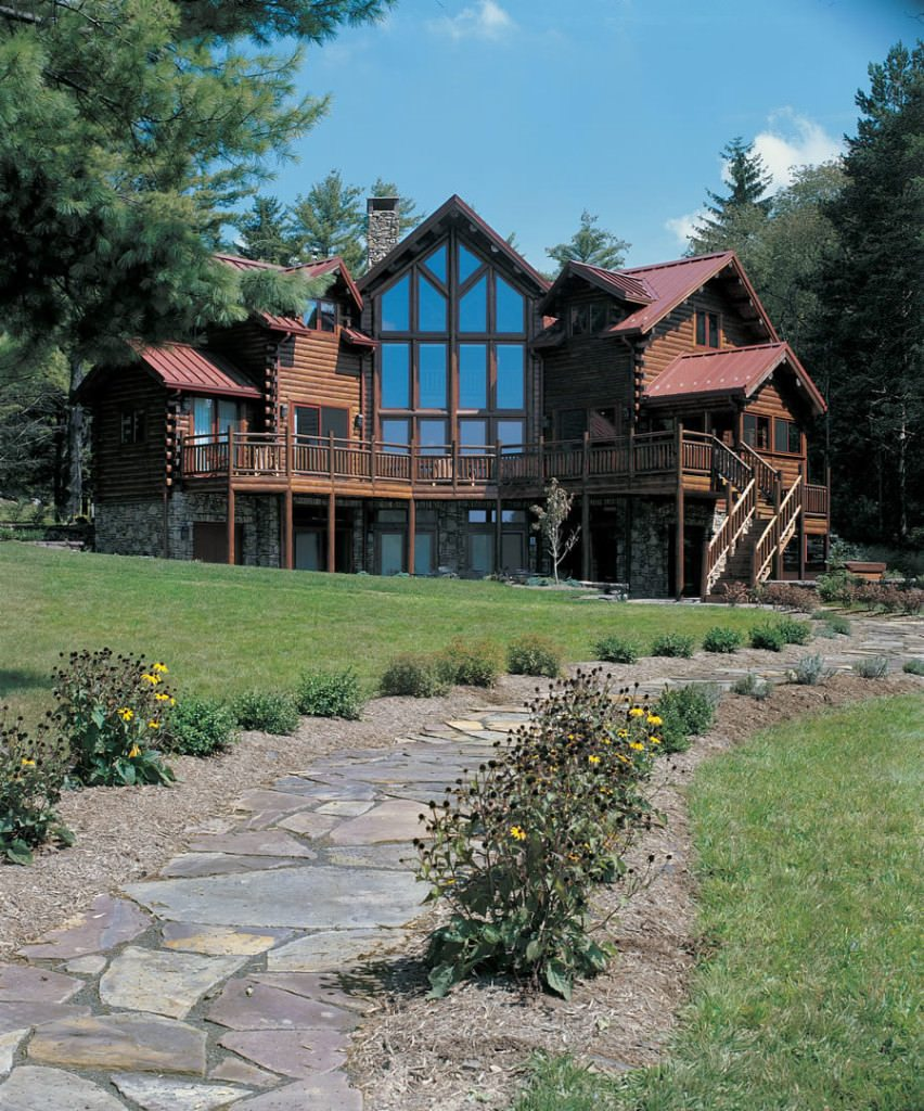 Award Winning Log Home Builders: Katahdin Cedar Log Homes