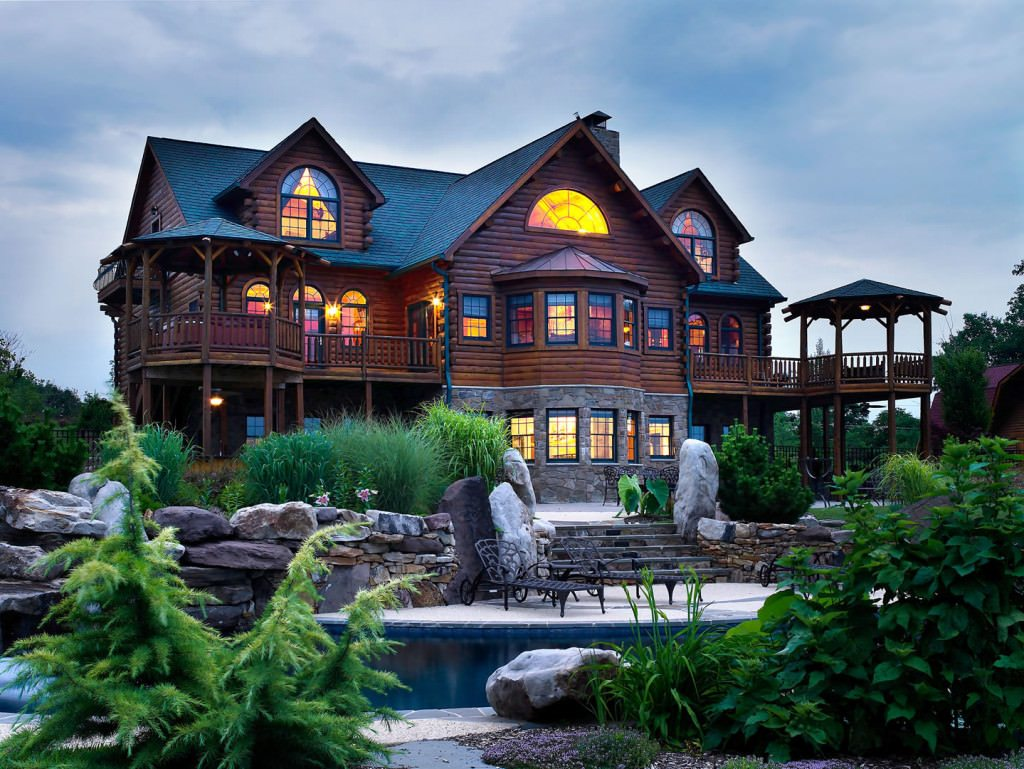 Katahdin cedar log homes for House log