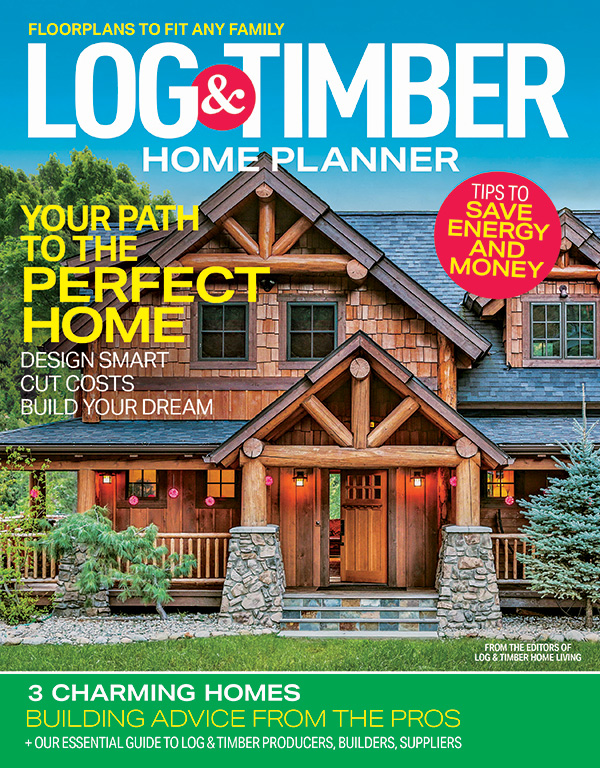 Log & Timber Home Planner 2021
