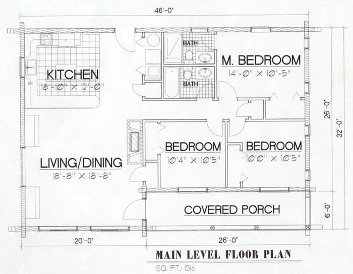 Lumberjack Musselshell Floor Plan
