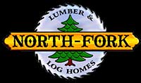 North Fork Lumber & Log Homes Logo